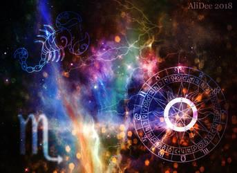 Scorpio in the Sky by AliDee33