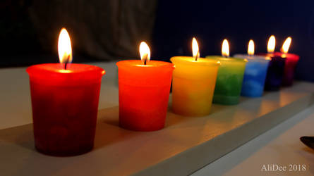 Chakra Candles 2 by AliDee33
