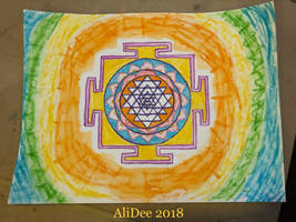Sri Yantra by AliDee33