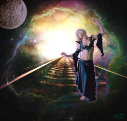 Cosmic Dance by AliDee33