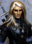 The Witcher OOAK Artist BJD by DalilaDolls