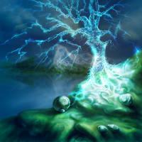 Lightning Tree by TomaszMrozinski