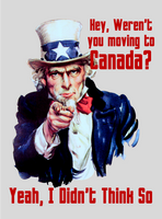 Weren't You SJW Drama Queens Moving To Canada? by CaciqueCaribe