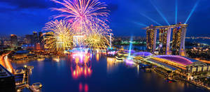 Fireworks by the Bay Crop by Draken413o