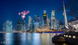 UBS fireworks by Draken413o
