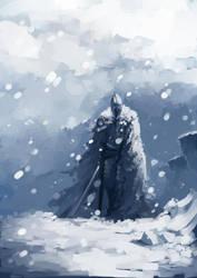 Frostfall Peaks by faustsketcher