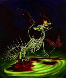 The Ancient Dragon by Xathoa