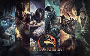 Mortal Kombat wallpaper by HQuinnArt
