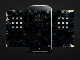Android Nexus 4 Homescreen by doumer