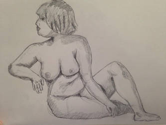 Female Anatomy Practice #1 by buffydoesbroadcast