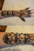 Steampunk Glove by PhoenixThriving