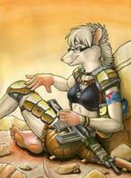 The Treasure Hunter by KalahariFox