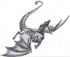Pen Dragon WEEEE by saphariadragon