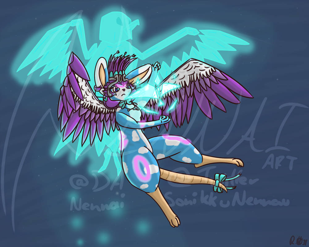 Blue Eagle Redraw 2.0 [2019] by Nennai