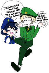 Sgt Frog gijinkas  by PandaPurinsu