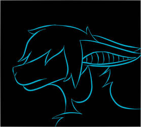 Sad Silhouette by RinDark801