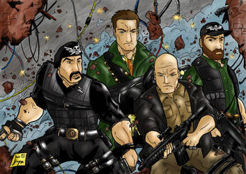 Expendables by Jey2K