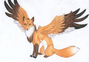 Fox by Tsamu