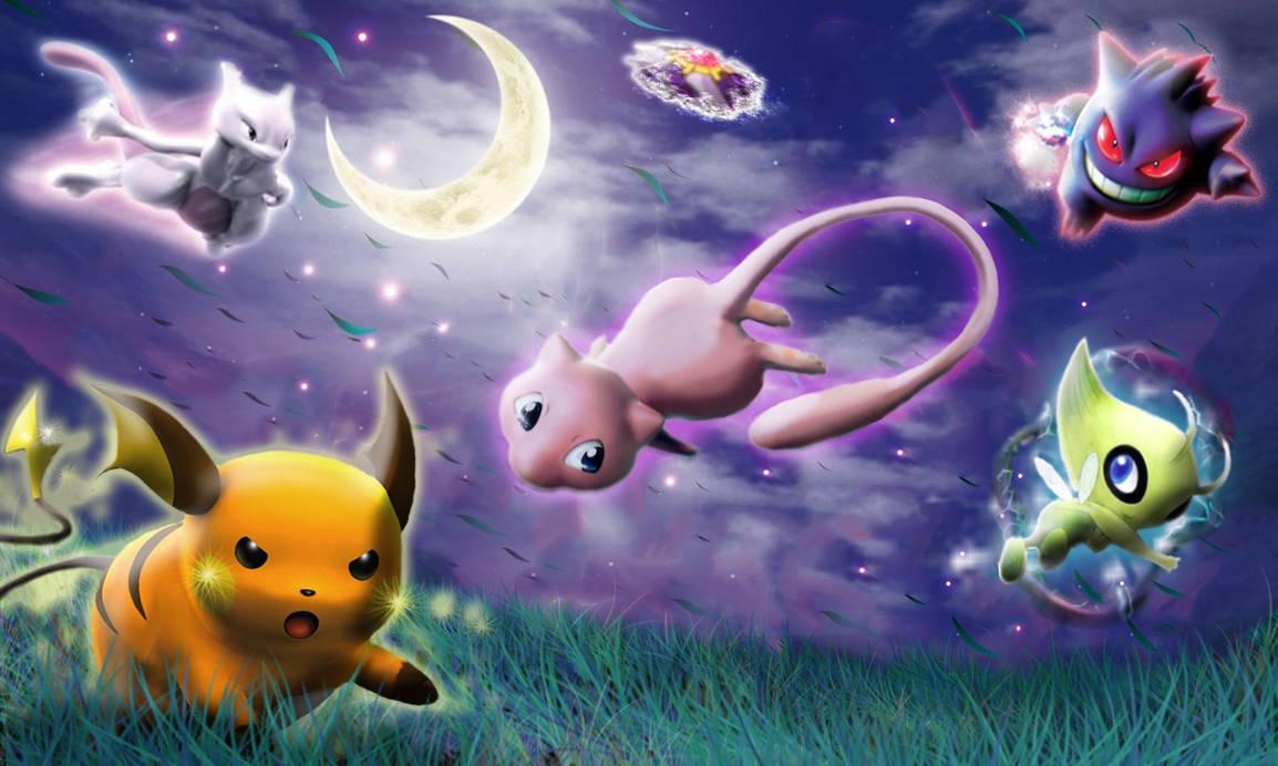 Pokemon wallpaper 'My party by Miiyamoto
