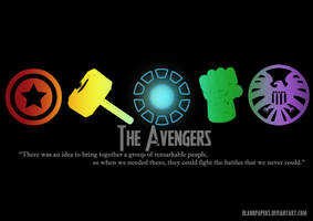 The Avengers Initiative by blankpapers