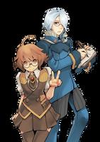Elly and Kiehl by Twai
