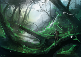 Mushi forest by Twai