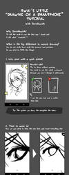Drawing on a smartphone tutorial by Twai