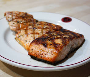 grilled salmon by agent229