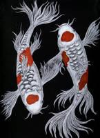 Koi Symmetry by celestriastars