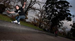Danny Jensen - Sweatstance by aaronactive