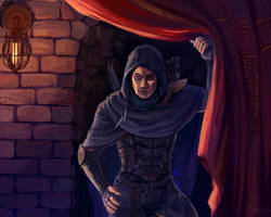 Garrett thief by Tssuru