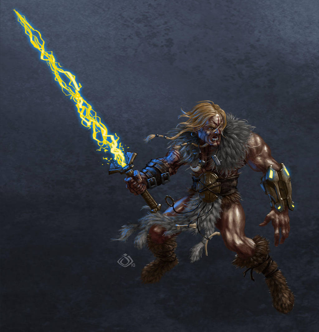 Thundarr redesign by RedHeretic