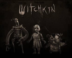 Witchkin Game Release by RedHeretic