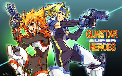 GUNSTAR SUPER HEROES by kamiomutsu