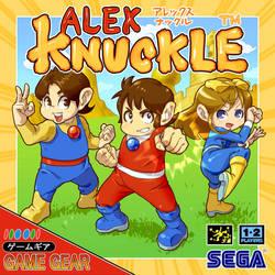 ALEX KNUCLE by kamiomutsu