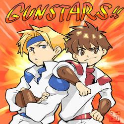 GUNSTARS! by kamiomutsu