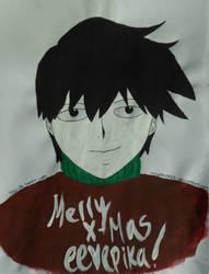 Kageyama Ritsu (MP100 Secret Santa 2016) by italyPASTA13