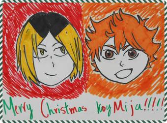KoyMija Christmas Present by italyPASTA13