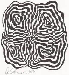 Swirled Quadrants by crazedbuzz