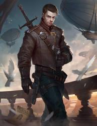 Collard - The Warrior - Outcast Odyssey Contest by AlekseyBayura