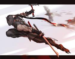 Ninja-Sketch 1 by AlekseyBayura