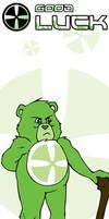 Good Luck Bear Bookmark by GlowingMember