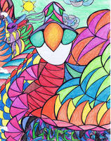 Caterpillar Bird Thing by GlowingMember