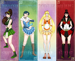 Sailor Avatar Bookmarks by GlowingMember