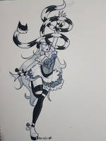 Magical Girl Pimpette by GlowingMember