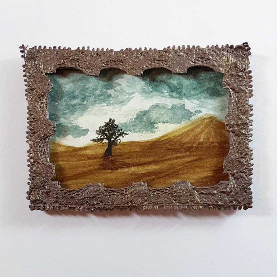MiniPainting: Desert Tree by GlowingMember