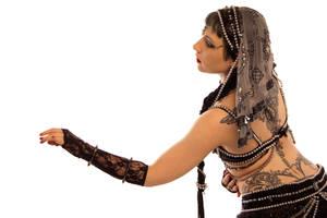 STOCK - Tribal Fusion Belly Dancer - Apsara 11 by Apsara-Stock