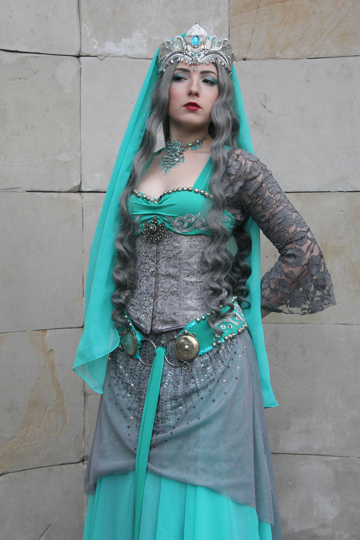 STOCK - Turquoise princess by Apsara-Stock