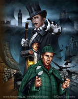Sherlock Holmes vs. A. Lupin by flipation
