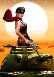 Panzer girl by flipation